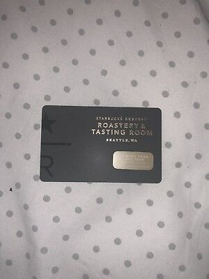 Starbucks Card Reserve Roastery and Tasting Room Limited Edition EXCLUSIVE