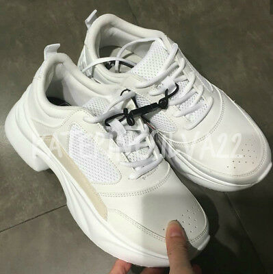 Zara New Chunky Sole Sneakers White 1417 301 Best Christmas Gift