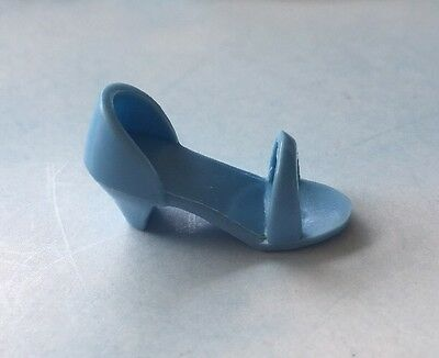 """Jem & the Holograms ROCK COUNTRY Replacement Left Light Blue Shoe 12"""" Doll"""