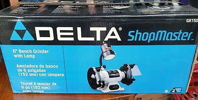 Brand New Delta 6 Bench Grinder With Lamp Gr150 35 00 Picclick