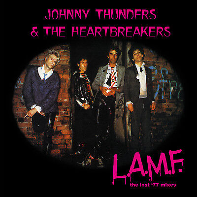 Johnny Thunders & the Heartbreakers 'L.A.M.F. lost '77 mixes' vinyl LP REMASTER