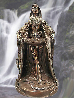 IRISH CELTIC MOTHER EARTH GODDESS DANU Don Abundance Maxine Miller Bronze 10885