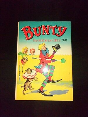 Bunty Annual 1978 Retro/Vintage Girls Hardback