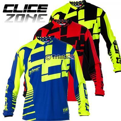 2019 Clice ZONE Pro Competition Trials Riding Shirt- Offroad Clothing