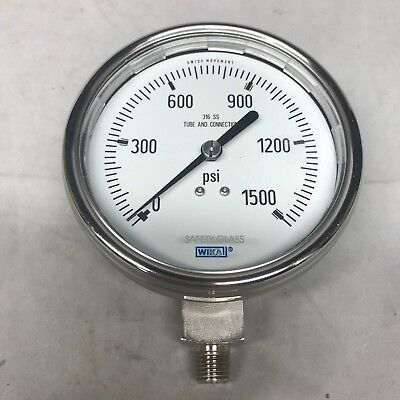 Wika 232.50.100.cont 821.21 Pressure Meter Pressure Gauge with Alarm Connection