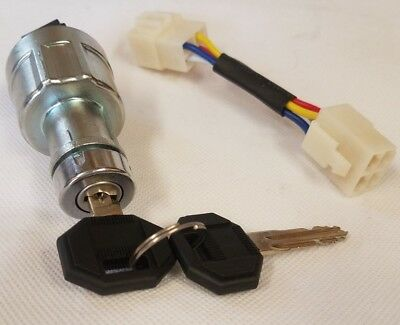 Ignition Switch for Heli Forklift Truck- Parts for Any Make & Model