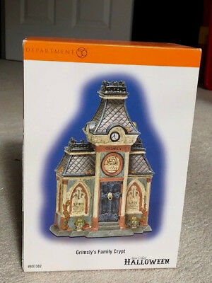 Dept 56 Grimsly's Family Crypt - BRAND NEW!