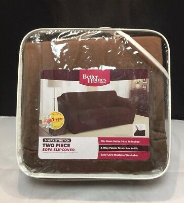1 Pc Better Homes And Gardens Sofa Couch Slipcover 74 96 Red