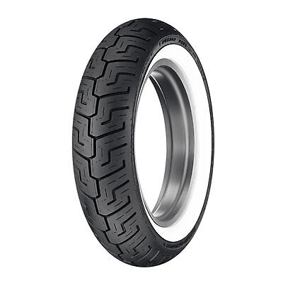 Dunlop D401 Rear Motorcycle Tire 150/80B-16 (71H) Wide White Wall