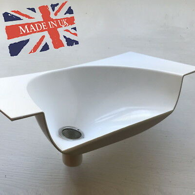 Urine Separator / Diverter for Eco / Composting Toilets. Proudly made in the UK