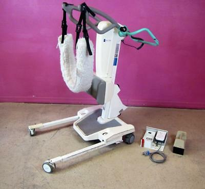 Arjo Huntleigh Sara 2000 Patient Lift Sit to Stand 1 Battery & Charger 400lb