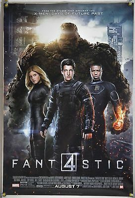 Fantastic Four Ds Rolled Orig 1Sh Movie Poster Miles Teller Marvel (2015)