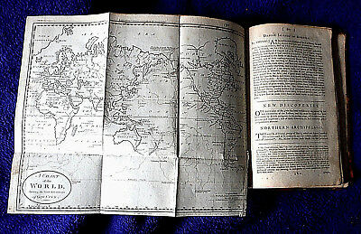 1788 Capt Cook's PACIFIC Australia NZ HI & USA + more 20 maps antique ATLAS