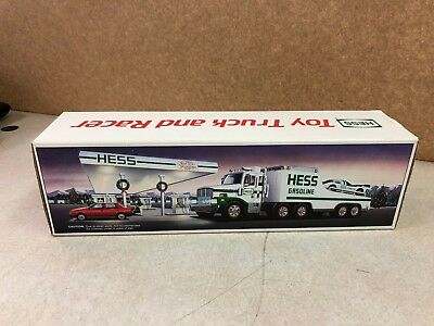1988 Hess Toy Truck and Racer 123332-17/  12332-18