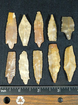A Big Lot of 9,000 to 4,000 Year Old Lithic Arifacts Bir Gandus Morocco 37.2gr