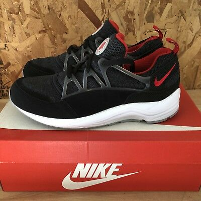 e6ca91a4e21b NIKE AIR HUARACHE Light - Black  University Red   Wolf Grey Size 10 ...