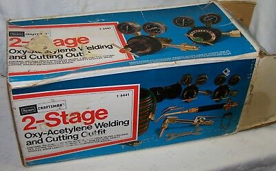 2 stage Oxy-Acetylene Welding & Cutting outfit from Craftsman