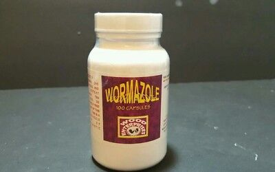 Gamegowl Wormer Wormazole, poultry fowl, Capsules