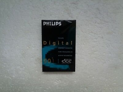 DCC Digital  Compact Cassette PHILIPS 90min - K7 Neuf