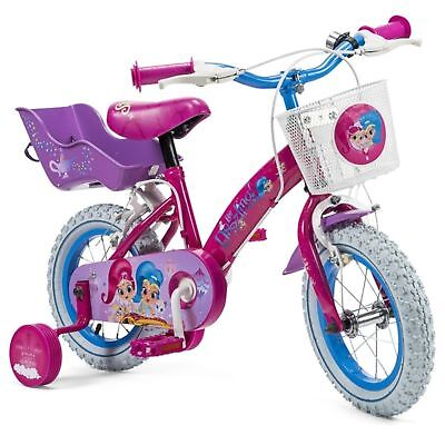 12 Inch Shimmer Shine Bike Kids Girls Outdoor Bicycle Steel Frame