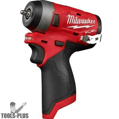 "Milwaukee 2552-20 M12 FUEL Stubby Cordless 1/4"" Impact Wrench (Tool Only) New"