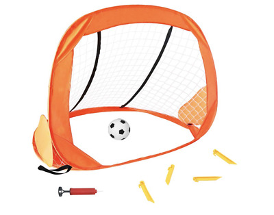 Soccer Ball Goal Set Portable Sports Target Training Net Outdoor Games for Kids