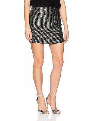 660dcb5ae23 French Connection Women s Desiree Disco Sequin Mini Skirt - Choose SZ Color