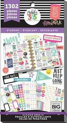 Happy Planner Value Pack Stickers - Fri-Yay (Student) MAMBI