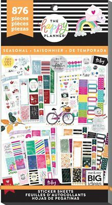 Happy Planner Value Pack Stickers - All in a Season MAMBI