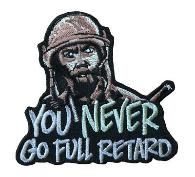 Tropic Thunder, You Never Go Full, Movie Morale Hook Patch (3 Inch)
