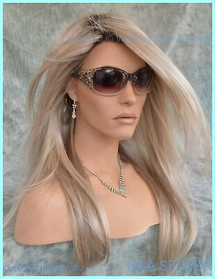 Zara Renau Lace Front Monotop Wig Palm Springs Rooted  Blonde Fs17/101S18