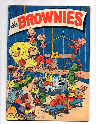 Four Color #398 - The Brownies (May 1952, Dell) - Good