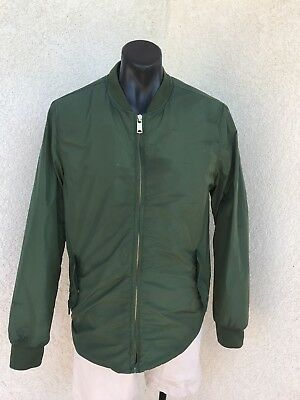Scoth And Soda Bomber/puffer Style Jacket Size Large