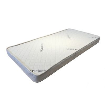 Spinal Support Organic Troll Sun Cot Mattress 1400 x 700 x 60mm