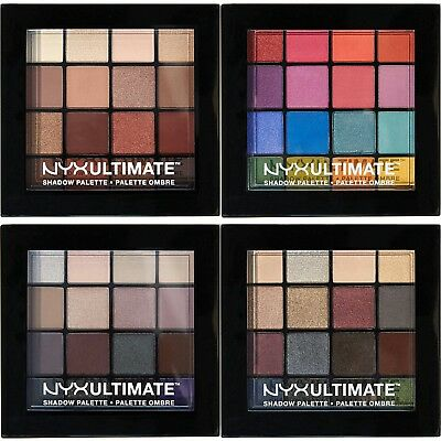 NYX Cosmetics Ultimate Shadow Palette Choose from 3