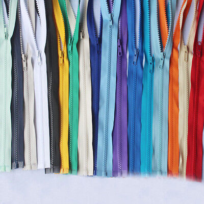 Plastic Teeth Open Ended Zip Down Jacket Coat Bag Zipper Nylon Coil Craft Sewing