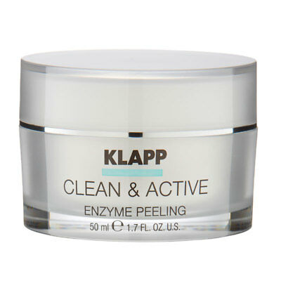 Klapp CLEAN & ACTIVE Enzyme Peeling 50 ml + Blitzversand