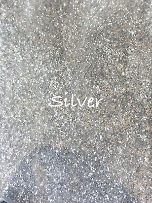 10g Silver Glitter Dust. Bath Bombs. Soap. Cosmetics. Nails. Crafts.
