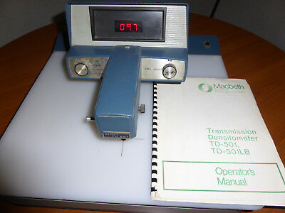 Mac Beth Densitometer