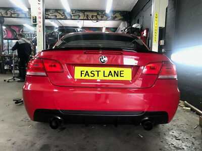 Bmw 3 Series Custom Made Stainless Steel Full Exhaust System Supply And Fit