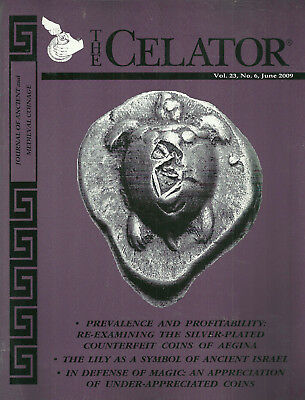 """""""the Celator"""" 2009 Vol 20 12 Issues Journal Of Ancient And Medieval Coinage Vg+"""