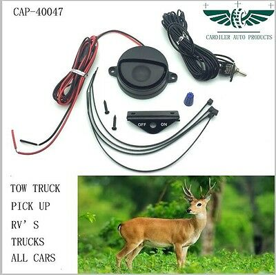Set Of 2 12V/24VElectronic deer animal alert whistle system for Uni Automotive