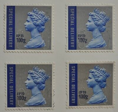 1 Unfranked Special Delivery (Up to 100g) Stamp - Gummed - With Minor Faults