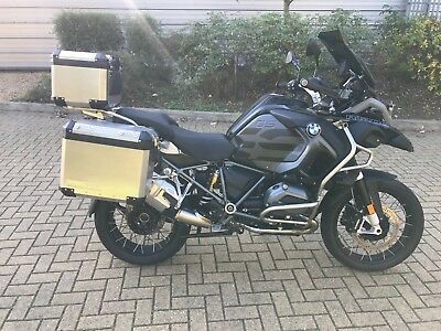 BMW R 1200 GS GSA Adventure TE 2017/17 Triple Black Part Exchange Welcome