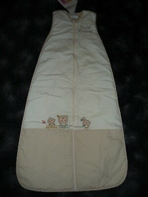 Dream Bag by Sweet Dreams: Cream Sleeping Bag 3 to 6 years (130cms) 1.0 Tog BNWT