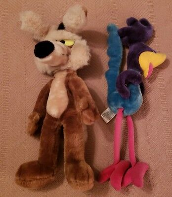 Wile. E. Coyote And Road Runner Plush