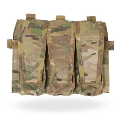 Crye Precision - AVS Detachable Flap / Mag Pouch - Multicam - Holds 3 Mags