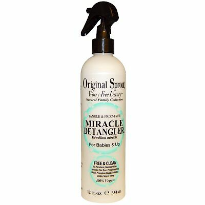Original Sprout Inc, Miracle Detangler, For Babies & Up, 12 fl oz (354 ml)