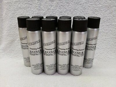 .maximum Impact Cleaning Solvent Spray (6 Pack) Industrial Strength