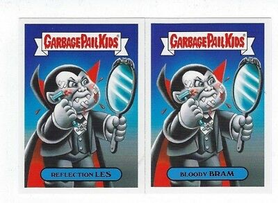 2018 Garbage Pail Kids Oh The Horror-ible base set 200 complete set 100 a/b